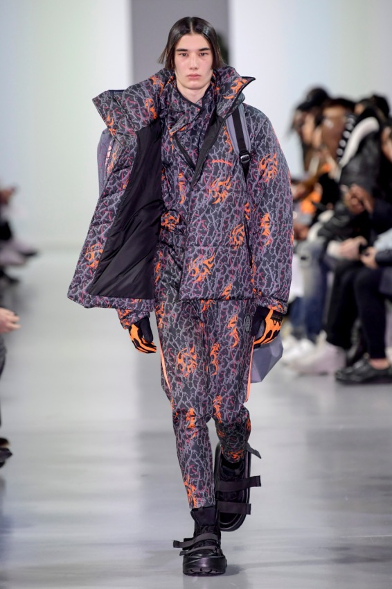 Chinese designer Shangguan Zhe at Paris Men's 2018