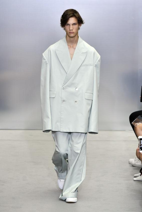 Chinese designer Sean Suen at Paris Men's 2018
